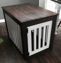 Build End Table Dog Crate