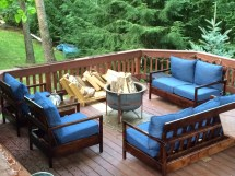 Ana White Furniture Deck - Diy Projects