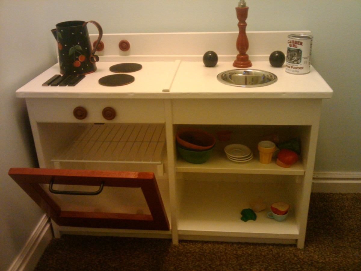kitchen sink at lowes cost to redo ana white | play and stove (modified) - diy projects