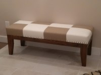 Ana White | Easiest Upholstered bench - DIY Projects
