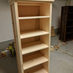 Diy Living Room Furniture Plans Decor For A Small Ana White | Channing Bookcase - Projects