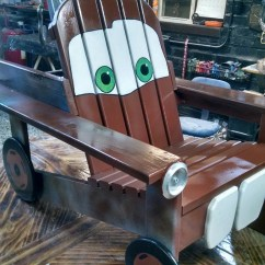Adirondack Chair Wood Eames Base Ana White | Tow Mater - Diy Projects