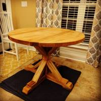 """Ana White   40"""" Kitchen Table - DIY Projects"""