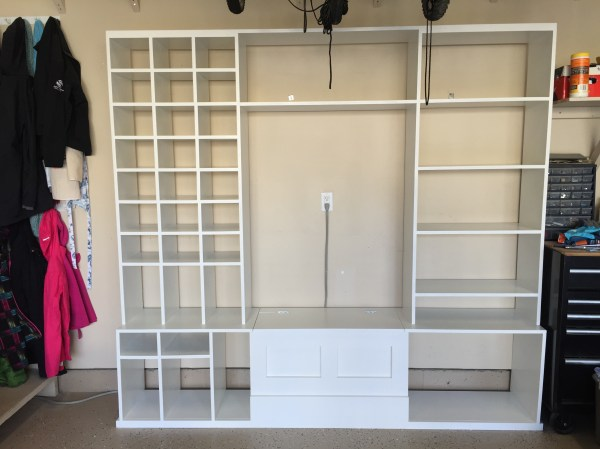 Ana White Garage Shoe Storage And Bench - Diy Projects