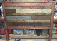 Ana White | Reclaimed wood-look headboard - DIY Projects