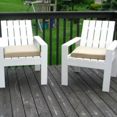 White Outdoor Chairs Bunnings Cheap Accent Ana Simple Lounge Diy Projects