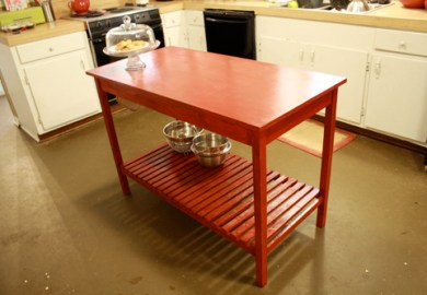 Simple Kitchen Island Diy