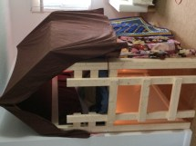 Ana White Over Bed Indoor Playhouse Loft - Diy Projects