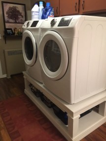 Ana White Washer & Dryer Pedestal - Diy Projects