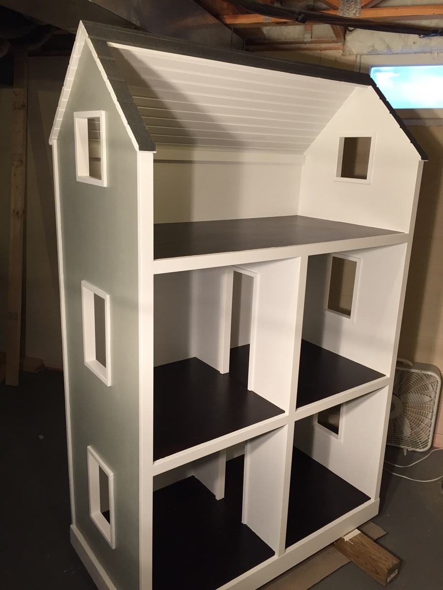 Ana White  American Girl Dollhouse  DIY Projects