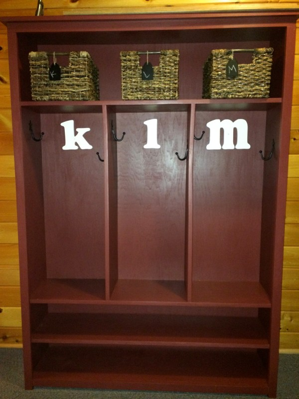 Ana White Entryway Locker - Diy Projects