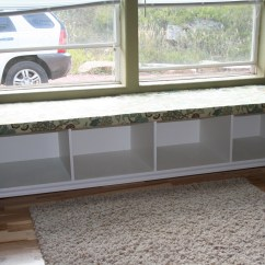Diy Kitchen Bench With Storage Shelf Ideas Ana White Window Seat Projects