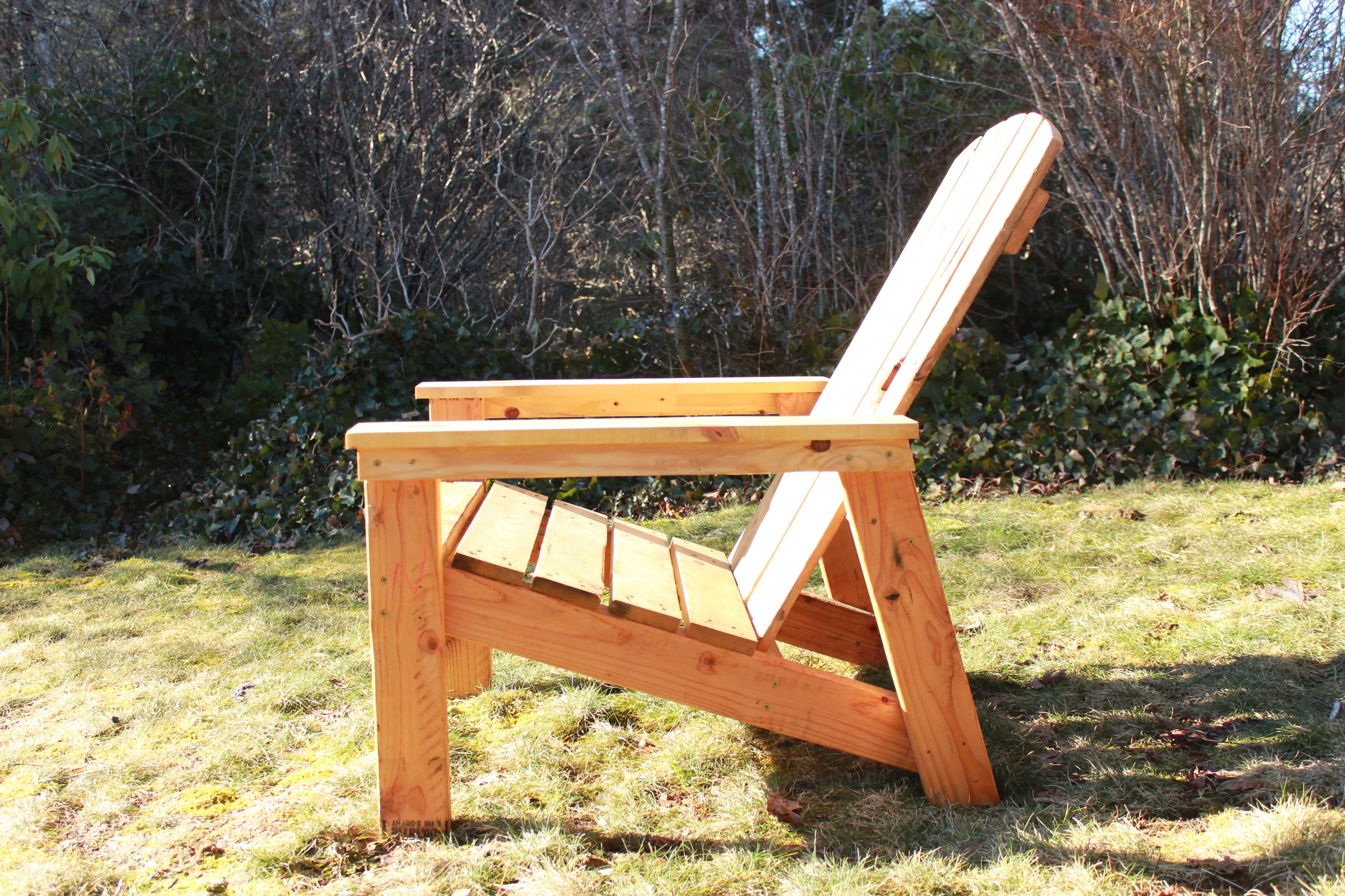 adirondack chair diy ana white keekaroo high reviews from pallets projects