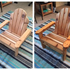 Miniature Adirondack Chairs Lifting Recliner Ana White Mini Chair Diy Projects