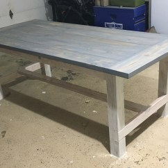 Pine Kitchen Bench Purple Wall Tiles Ana White | Farmhouse Table And Benches - Diy Projects
