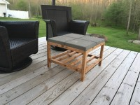 Ana White | Simple Paver Coffee Table (patio) - DIY Projects