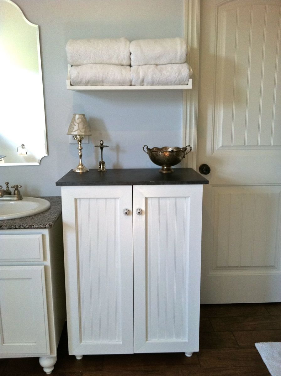 Ana White  My laundry basket dresser with doors  DIY Projects