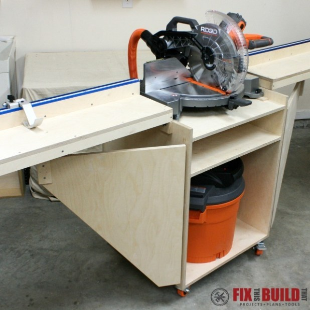 Table saw stand plans mobile for Ana white router table