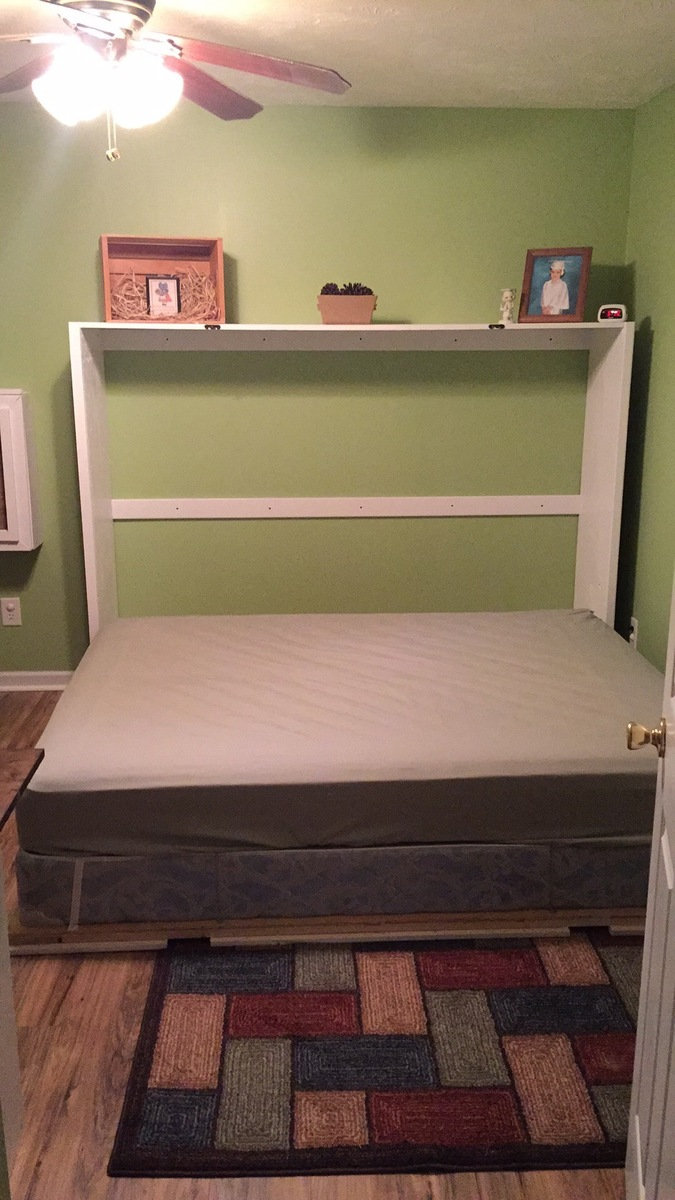 Ana White  Queen Murphy Bed  DIY Projects