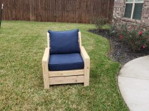 Ana White Modern Outdoor 2x4 Chair With Modification