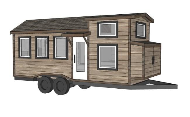 Ana White Free Tiny House Plans Quartz Model With