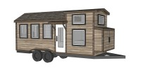Ana White | Free Tiny House Plans - Quartz Model with ...