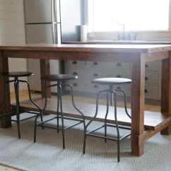 Kitchen Workbench Second Hand Units Ana White Farmhouse Style Island For Alaska Lake Cabin Diy Projects