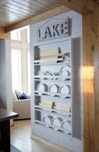 Ana White | Full Length Plate Rack for Our Cabin - DIY ...