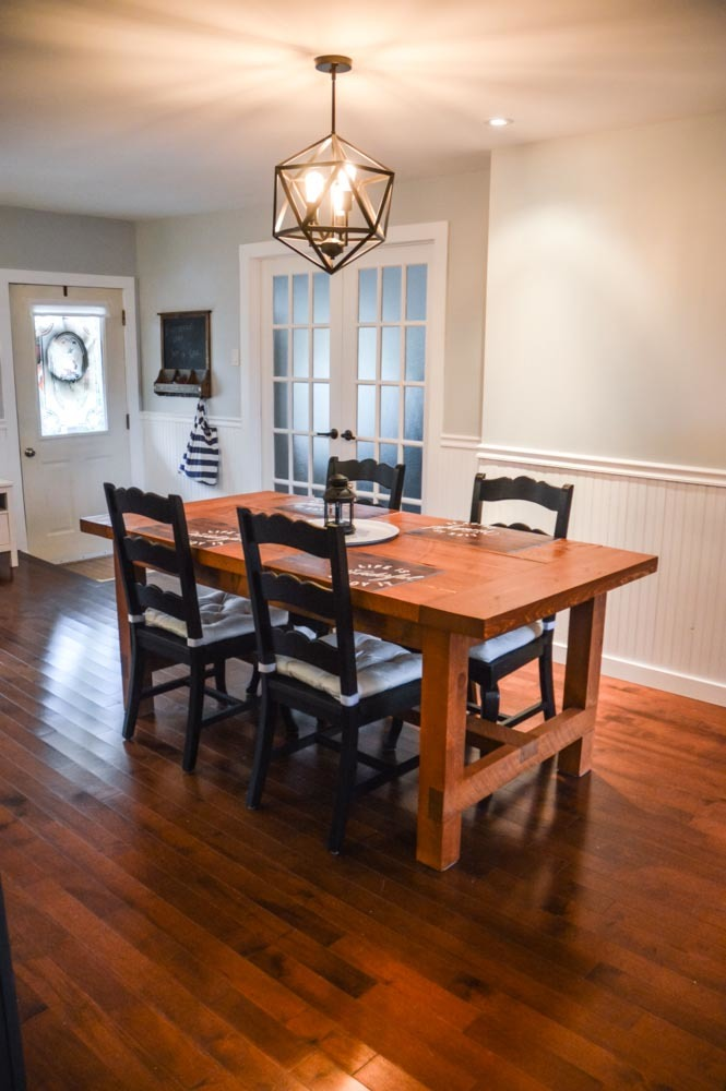 Ana White Rustic Dining Table In Love With My Table