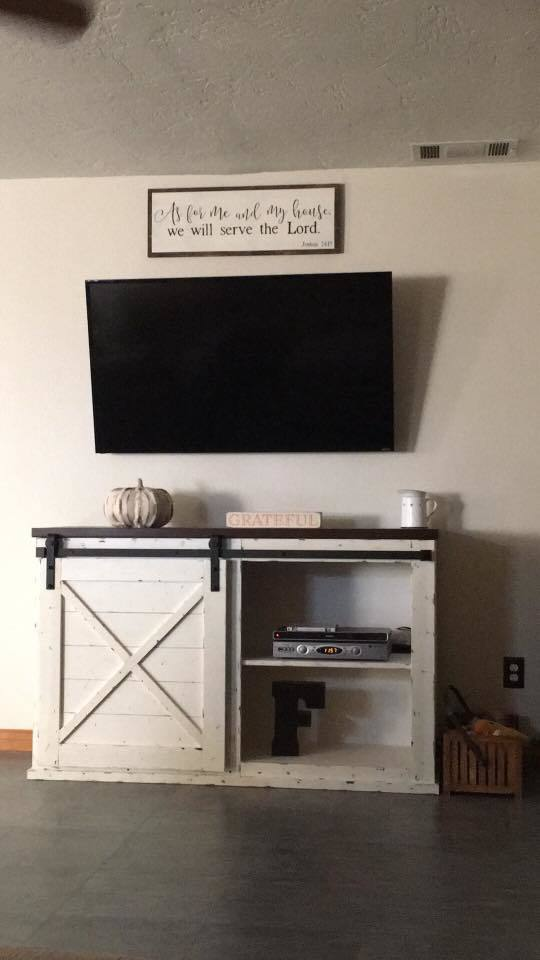 Ana White Barn Door Console Table Diy Projects