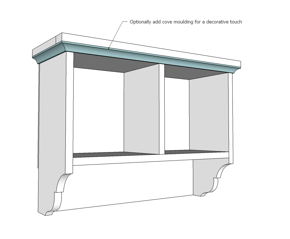 How to Build Bathroom Wall Cabinet Diy PDF Plans