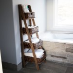 Wooden Ladder Shelf Ana White