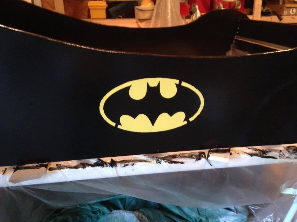 Ana White  Batmobile full Bed  DIY Projects