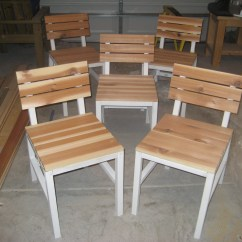 Diy Dining Chairs Full Grain Leather Chair Ana White Harriet Outdoor With Cedar Slats
