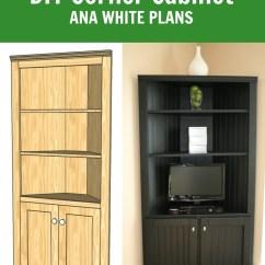Kitchen Corner Cabinet Storage Home Depot Sinks Undermount Ana White Shelf Diy Projects