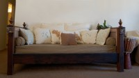 Ana White | Salvaged Wood Daybed - DIY Projects
