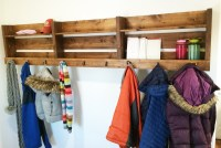 Ana White | Ryobi Nation 8-Foot Long Pallet Inspired Coat ...