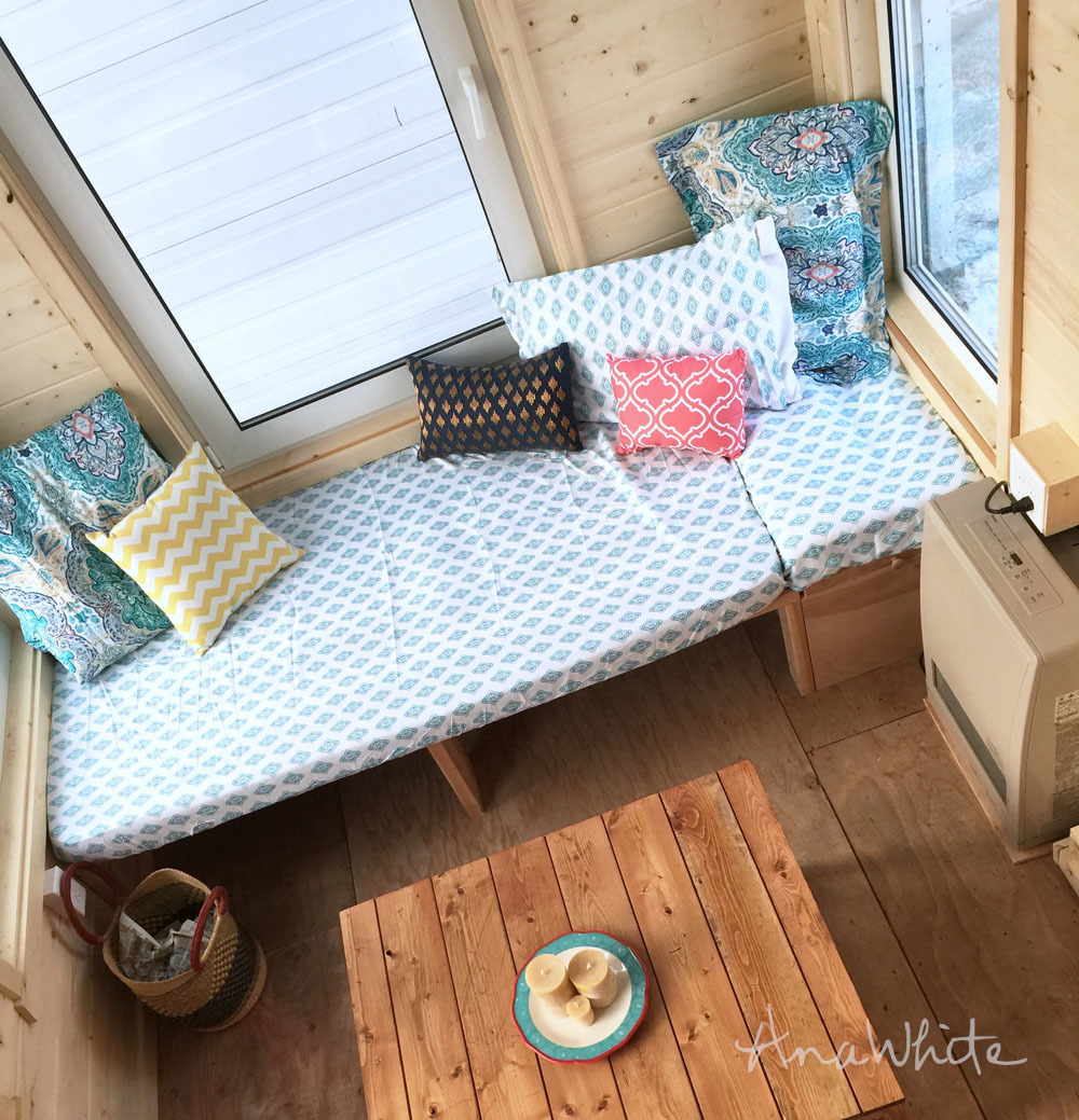 diy daybed sofas furniture row sofa bed ana white for tiny house seating and extra sleeping how to build a simple with storage underneath that doubles as fits standard twin mattress free plans by com