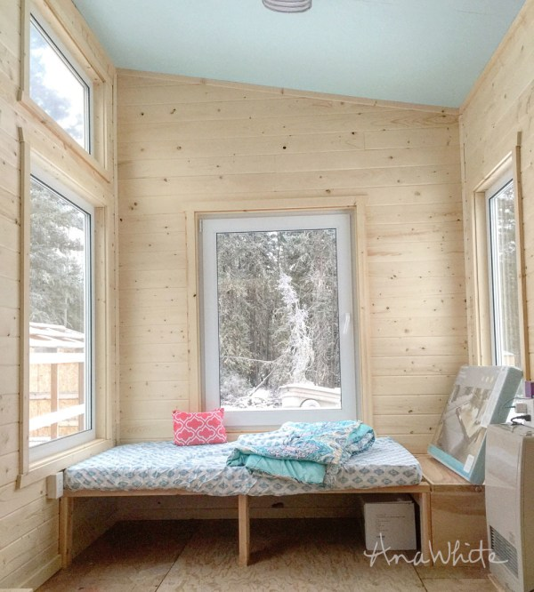 Ana White Diy Daybed Tiny House Seating And Extra