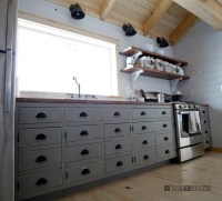 Ana White | DIY Apothecary Style Kitchen Cabinets - DIY ...