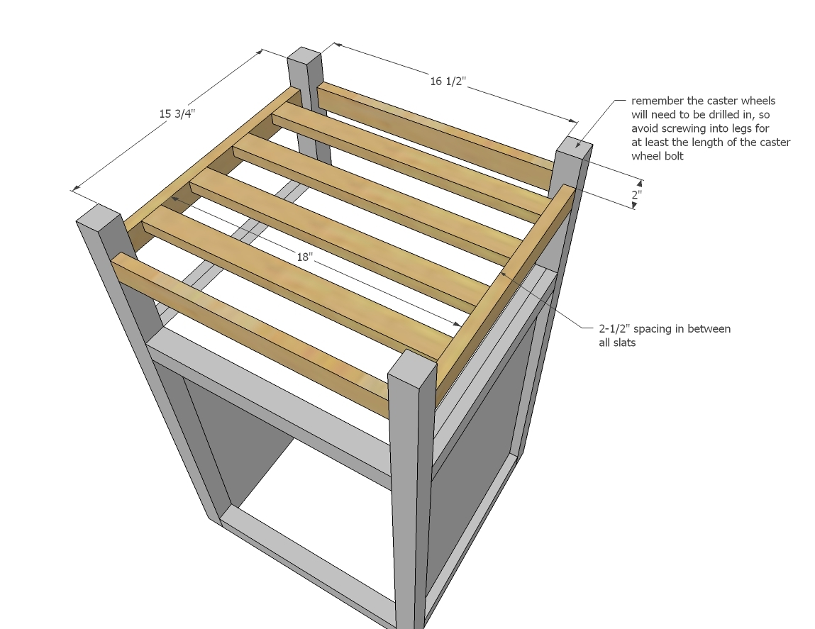 kitchen prep cart off white cabinets ana how to small island with compost diy projects