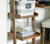 Ana White | Leaning Ladder Wall Bookshelf - DIY Projects