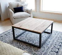 Ana White   Industrial Style Coffee Table as seen on DIY ...