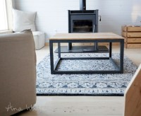 Ana White | Industrial Style Coffee Table as seen on DIY ...