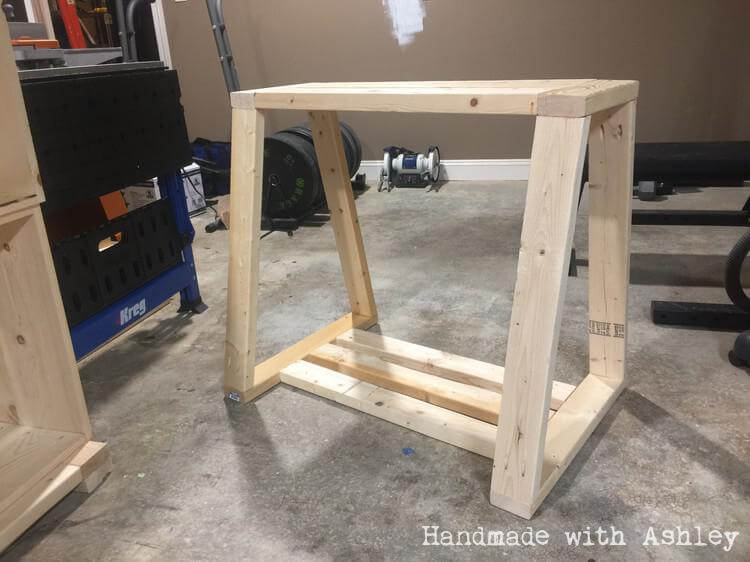 Ana White DIY Mobile Lathe Stand DIY Projects