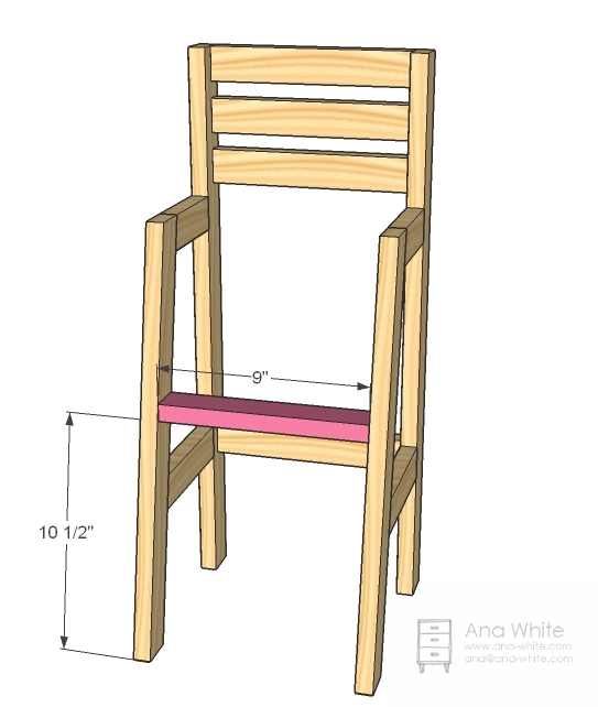 baby doll high chairs big and tall plastic lawn ana white chair diy projects
