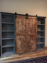 Ana White | Barn Door Entertainment Center - DIY Projects