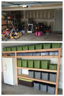 Garage Storage Shelving Ideas