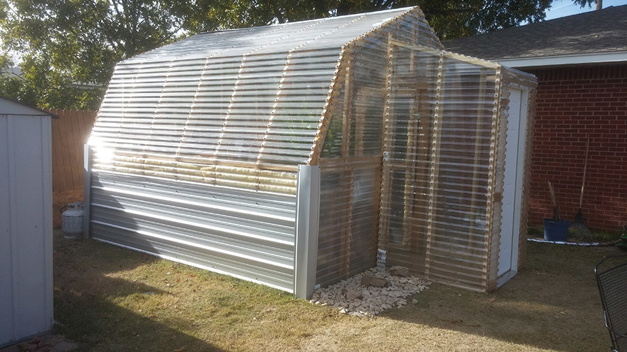 Ana White Barn Greenhouse With Entryway DIY Projects