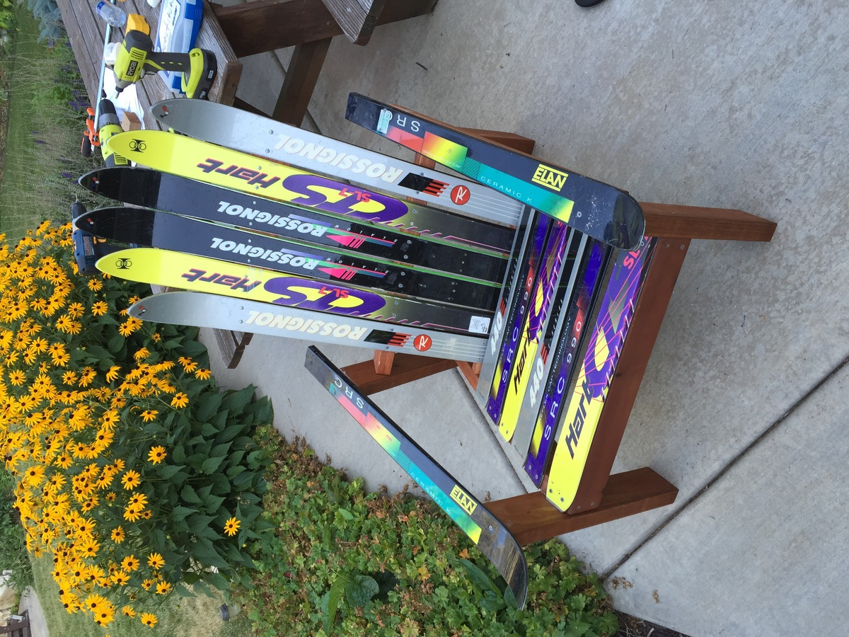 Ana White Adirondack Ski Chair DIY Projects